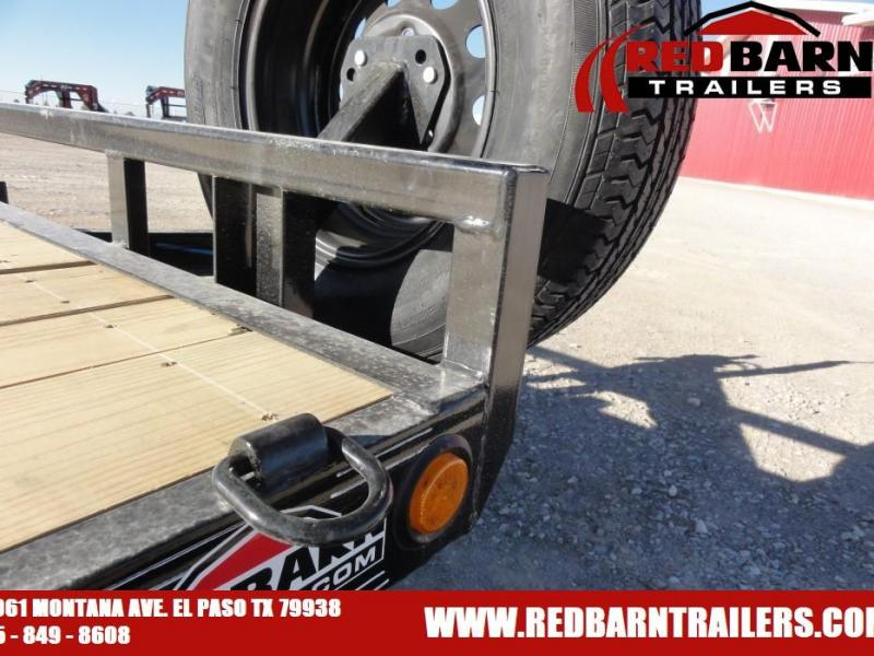 "2021 PJ CE182S 5"" CHANNEL EQUIPMENT HAULER UTILITY Equipment Trailer"