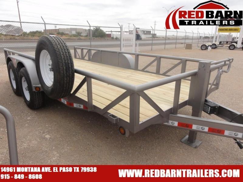 7 X 16 2021 GR Trailers UT7016WR14L Utility Trailer