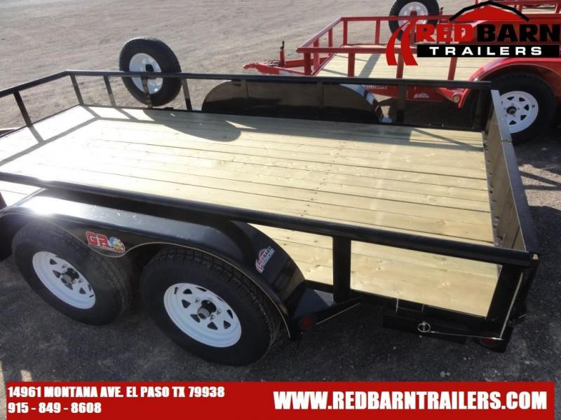 82 x 14 GR Tandem Axle Utility Trailer