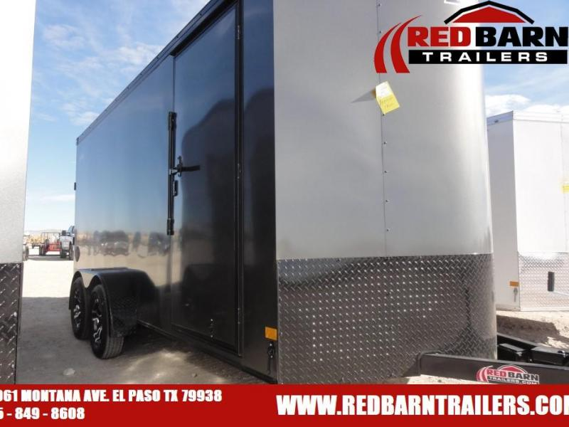 7X16 2021 HAULMARK TRANSPORT BLACKOUT Enclosed Cargo Trailer