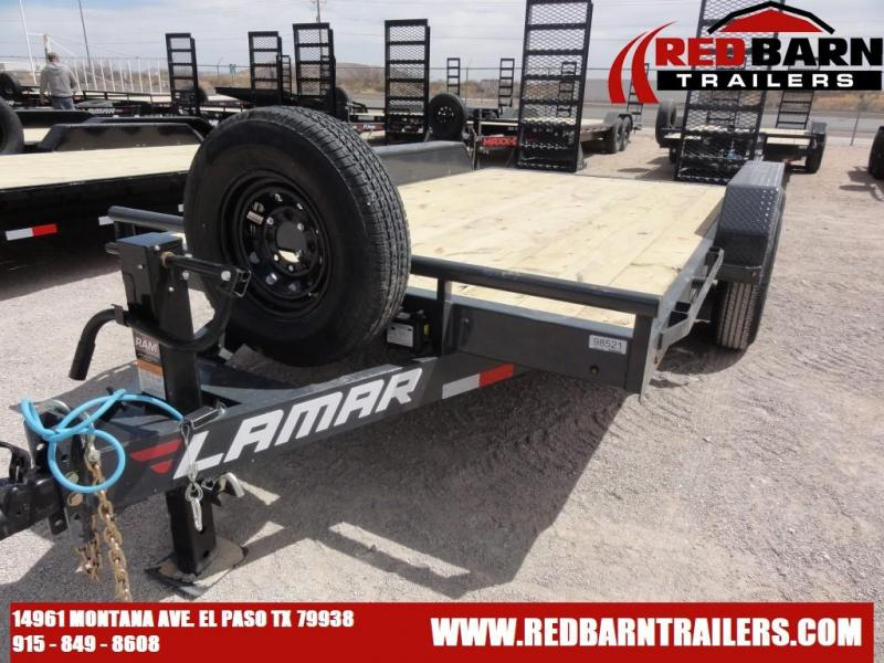 83 X 14 2021 Lamar Trailers H6831427 Equipment Trailer