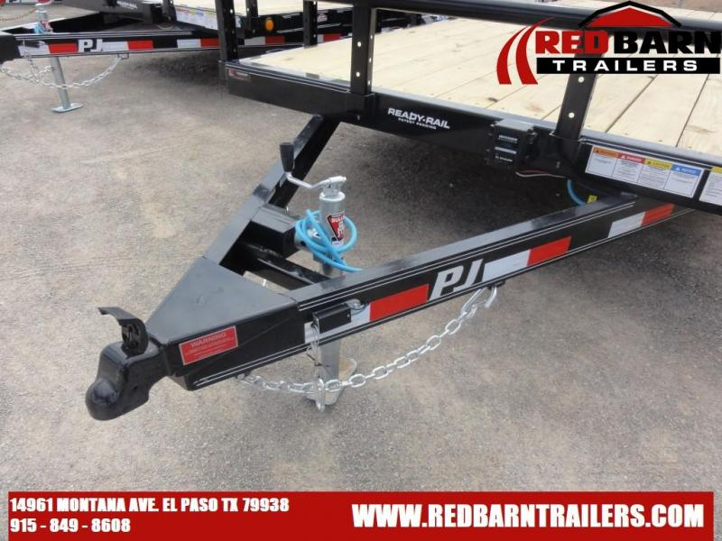 2021 83X18 PJ UTILITY TRAILER WOOD DECK WITH
