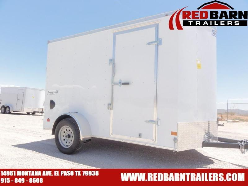 6 X 10 2020 HAULMARK PASSPORT Enclosed Cargo Trailer