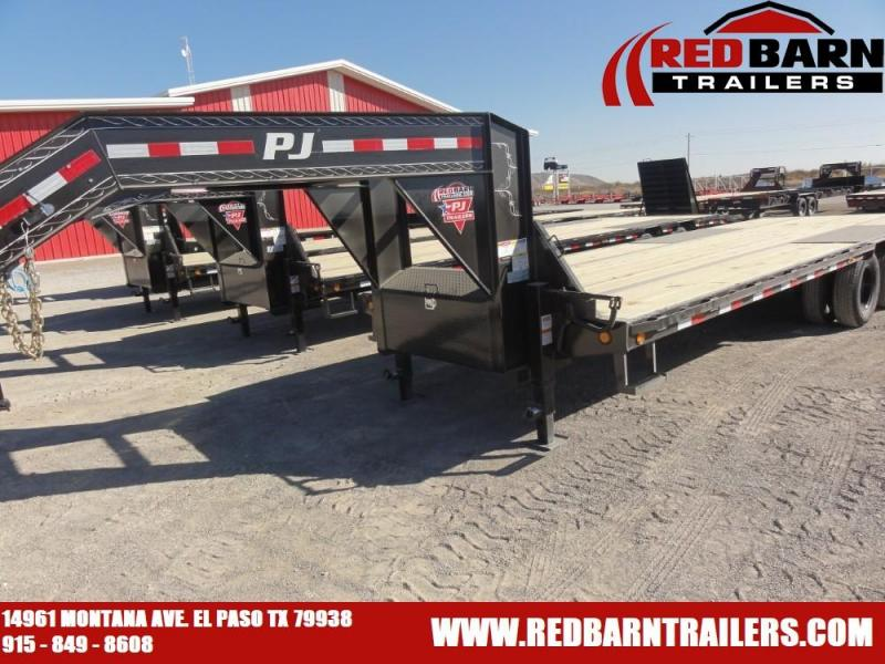 102x25 2020 PJ Trailers Low-Pro Flatdeck with Duals (LD)