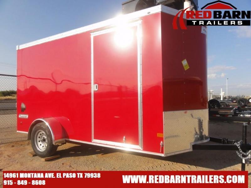 6 x 12 2022 Haulmark TSV612S2 Enclosed Cargo Trailer