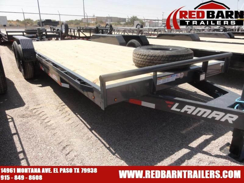 7 X 20 2021 Lamar Trailers H6832027 Equipment Trailer
