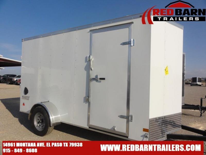 2022 Haulmark 6X12 Enclosed Cargo Trailer PP612S2-D