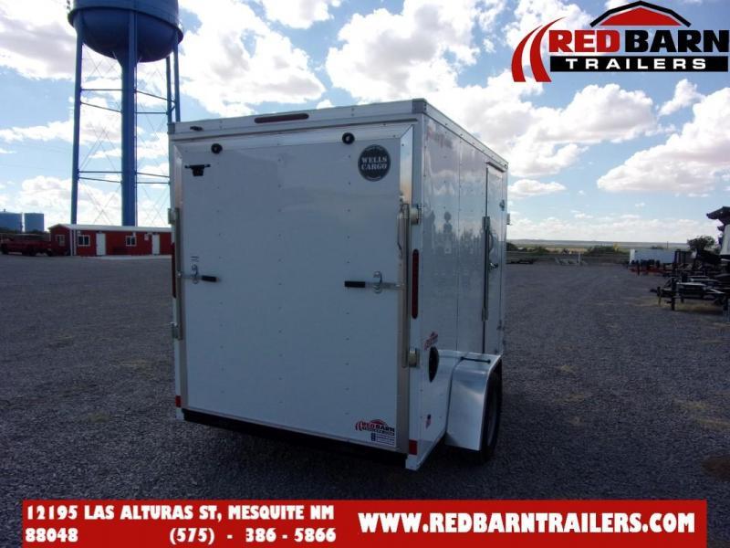 6 X 10 2022 WELLS CARGO FT610S2 Enclosed Cargo Trailer