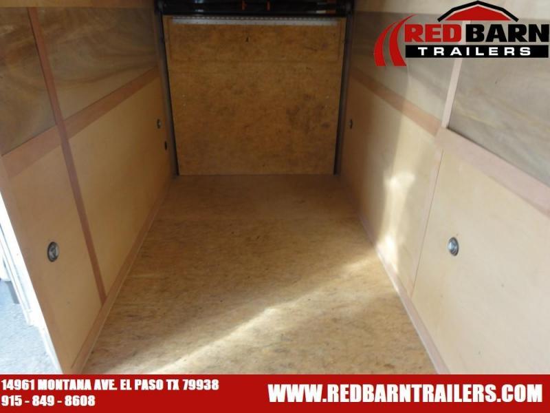 7x14 2021 Haulmark Passport  Enclosed Cargo Trailer @ Red Barn Trailers