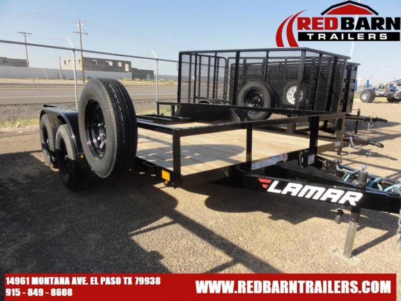 77 X 12 2021 Lamar Trailers UT77 Utility Trailer
