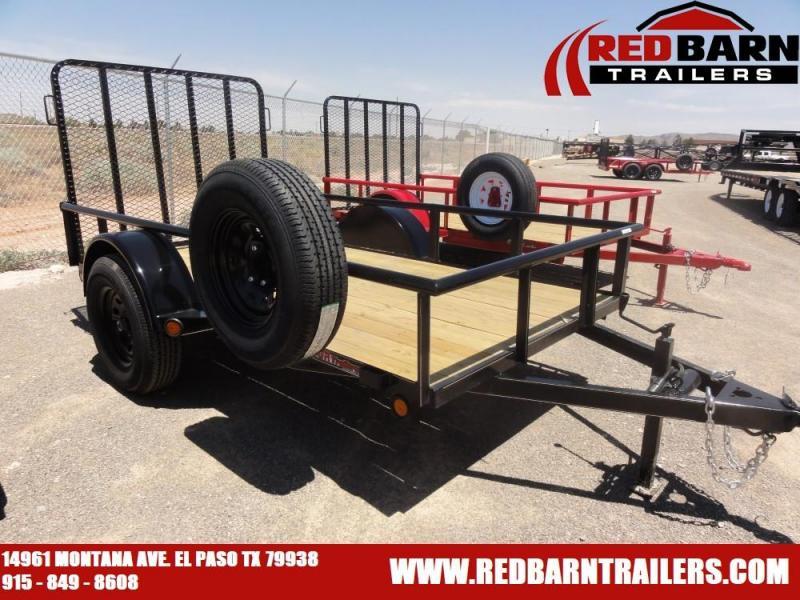 5 x 10 2020 GR Single Axle Utility - Ramp Gate