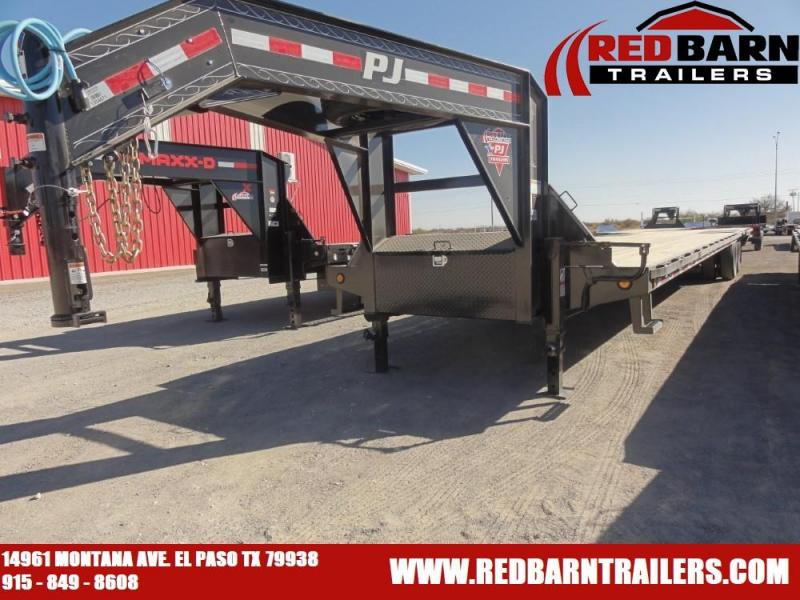 102x40 2020 PJ Trailers Low-Pro Flatdeck with Duals (LD)