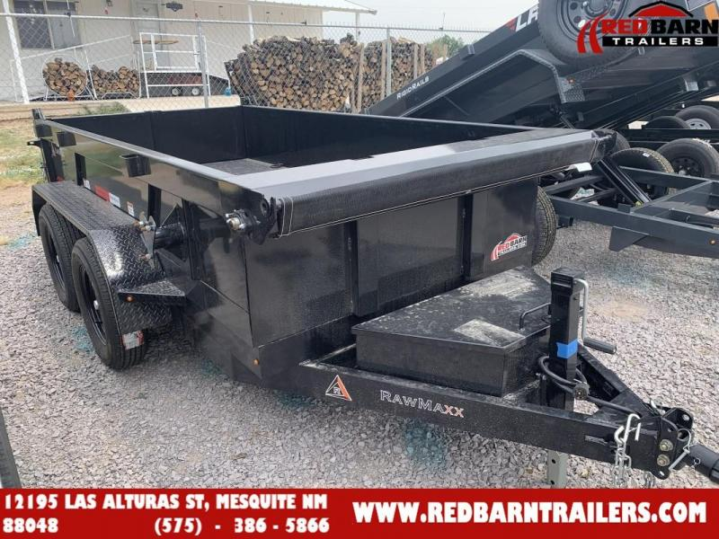 2022 5 x 10 RawMaxx XTT-10-3.5K Dump Trailer