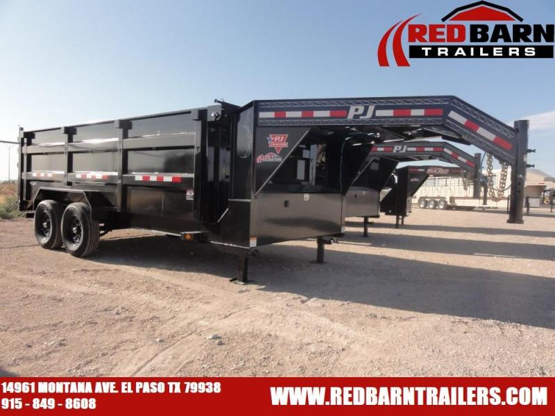 2021 PJ Trailers DM162GN Dump Trailer
