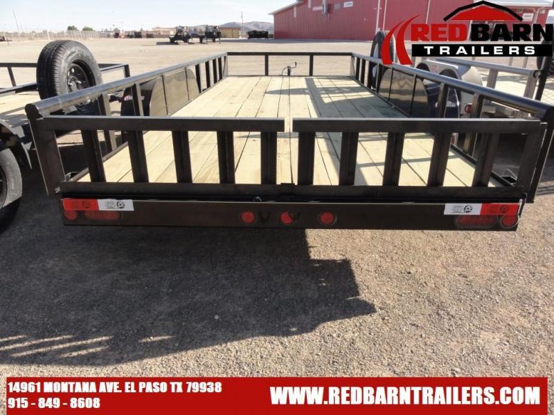 82 x 18  GR Tandem Axle Utility Trailer