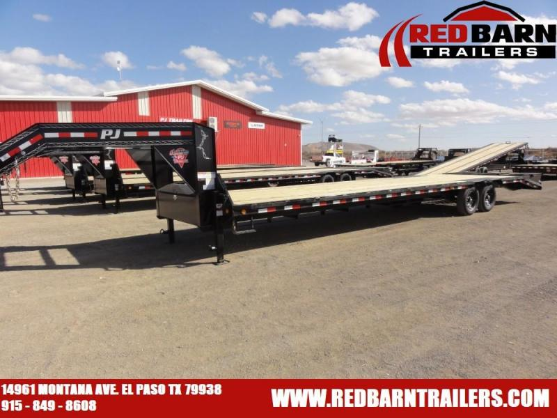 102X35 2021 PJ Truck Beds LS352 Flatbed Trailer