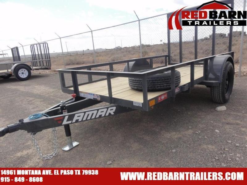 2021 Lamar Trailers UT601013 Single Axle Utility Trailer
