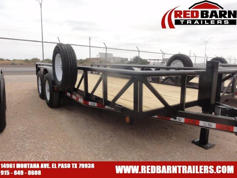 7 X 18 2021 GR Trailers UT7018WR14L Utility Trailer