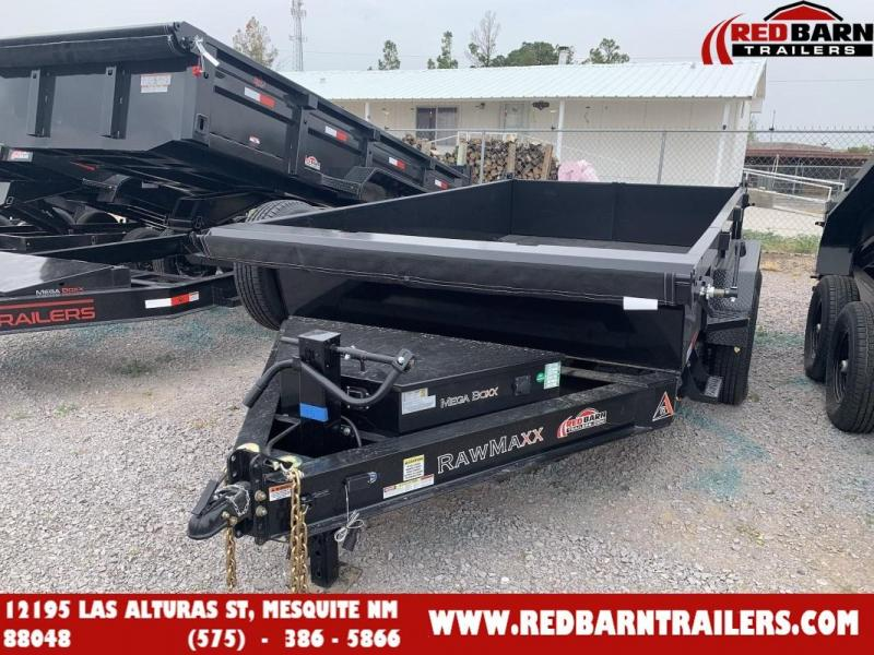 2022 7 x 12 RawMaxx XTT-12-27K Dump Trailer