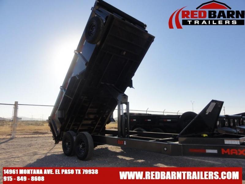 2022 MAXXD 83X16 Dump Trailer DJX8316
