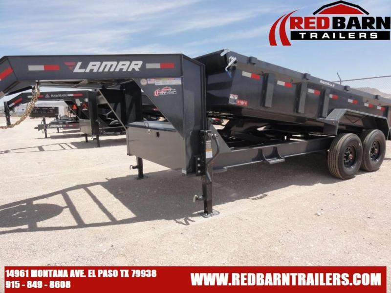 83 X 16 2021 Lamar Trailers LOW-PRO DUMP Dump Trailer