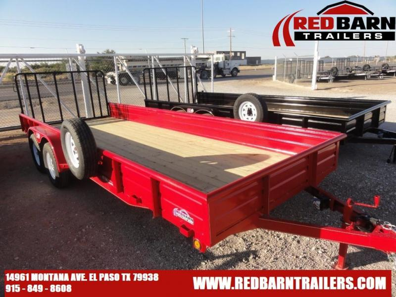 2022 GR 82 X 20 Tandem Axle Utility - RampGate Closed Sides