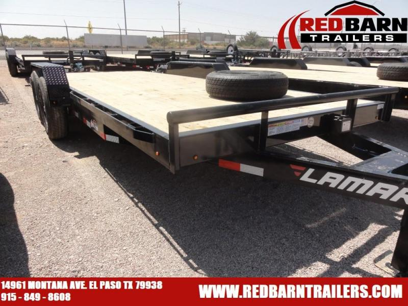 7 X 18 2021 Lamar Trailers H6182X Equipment Trailer