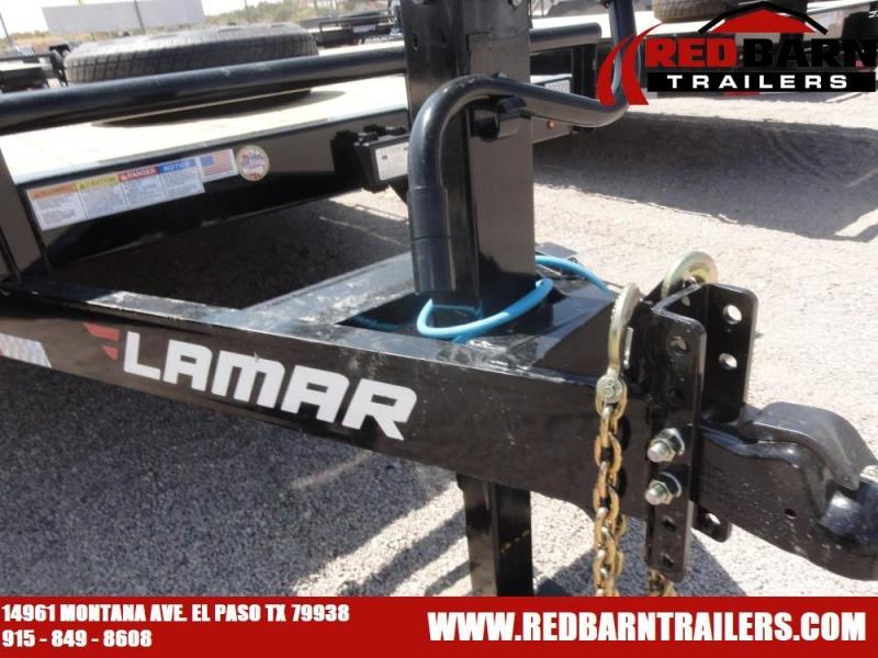 7 X 18 2021 Lamar Trailers H6182X Equipment Trailer