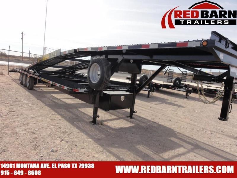 2021 Kaufman Trailers 47' Double Deck EZ 4 Car Hauler Trailer 3X8K AXLES