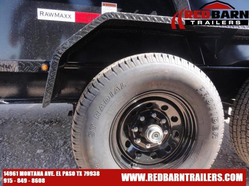 2022 RawMaxx XTT-12-27K Dump Trailer