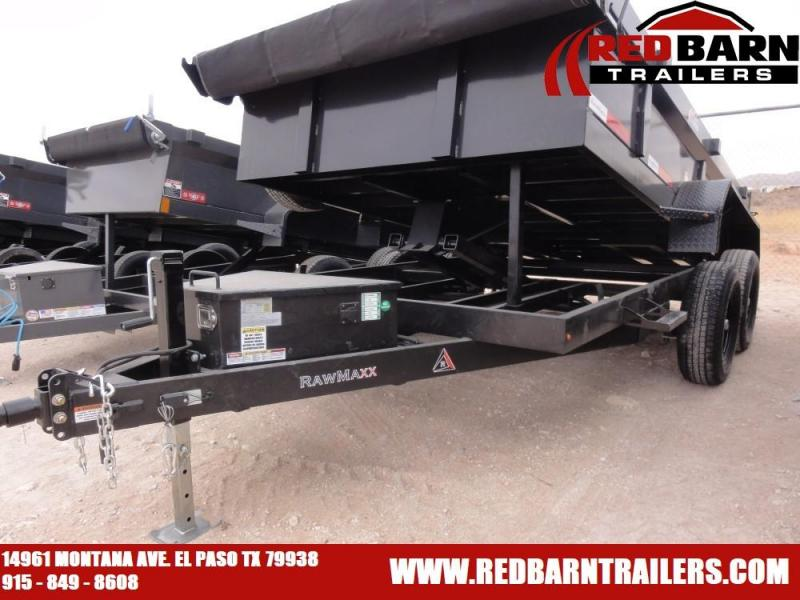 2020 RAWMAXX 77X12 Dump Trailer model XTT-12-25K