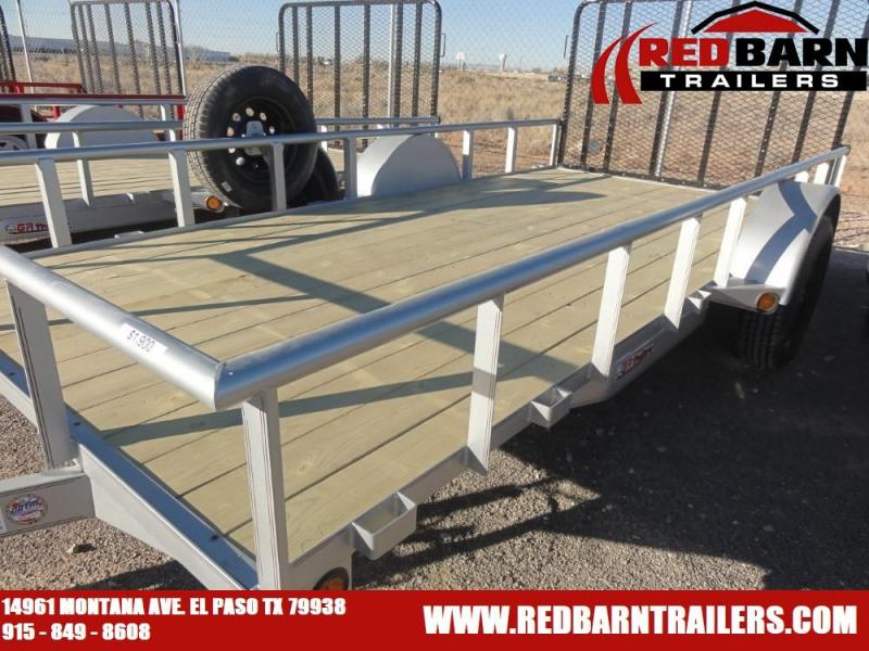 77X14 2021 GR SINGLE AXLE UTILITY TRAILER WITH RAMP GATE
