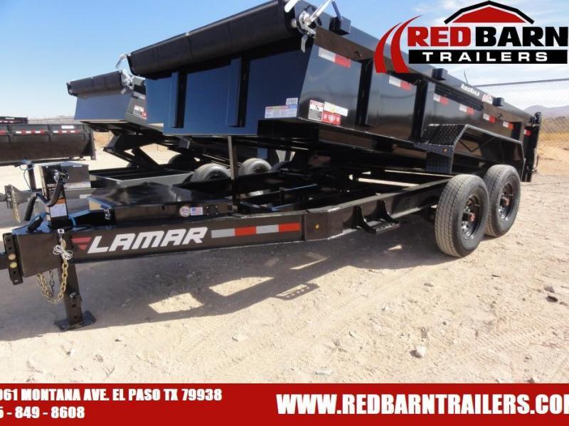 2021 Lamar Trailers DL831427X Dump Trailer