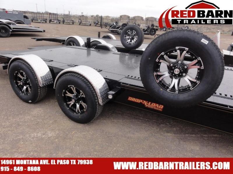 80 x 20 2020 MAXXD A6X 10K DROP-N-LOAD CAR TRAILER Car / Racing Trailer @Red Barn Trailers