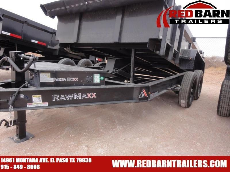 2020 RAWMAXX 7X12 Dump Trailer model XTT-12-27K