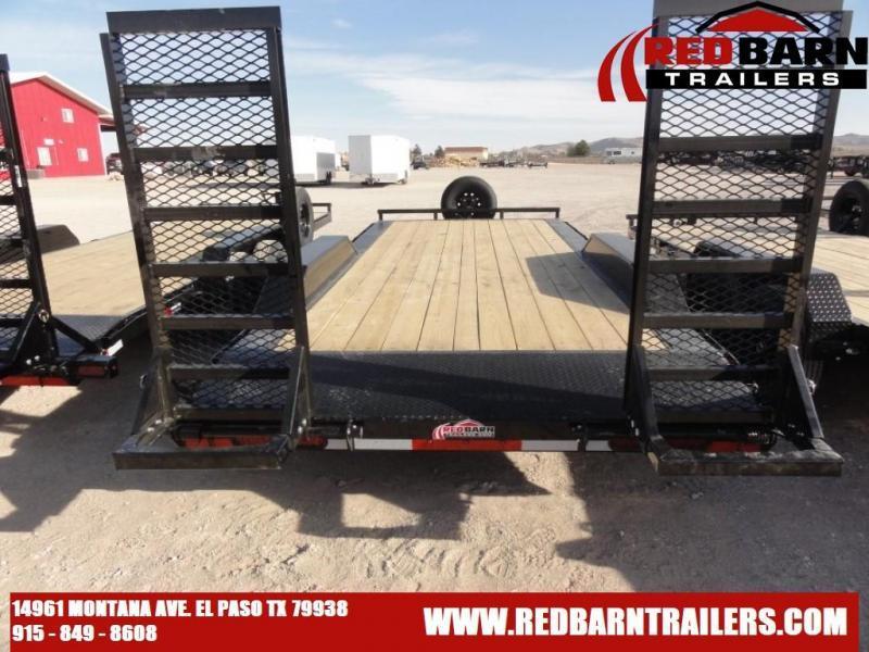 102 X 20 2021 Lamar Trailers H6022027 Equipment Trailer