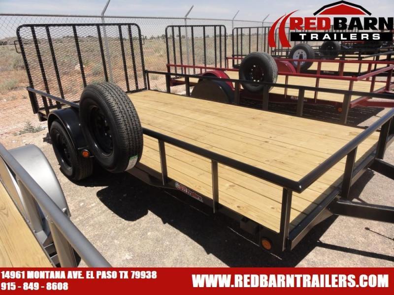7 x 14 2020 GR Single Axle Utility - Ramp Gate