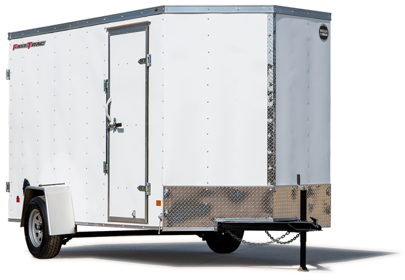 6 x 10 Wells Cargo FastTrac Enclosed Trailer FT610S2