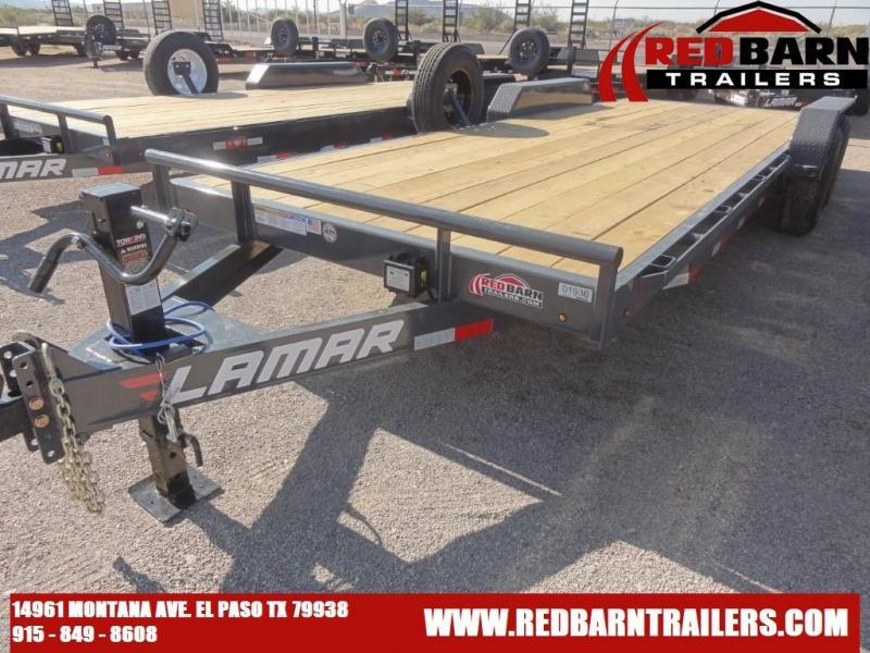 2021 Lamar 83X22Trailers H6832227 Equipment Trailer