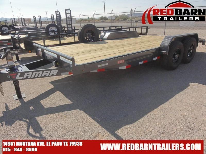 2021 LAMAR 83 X 20 Equipment Trailer