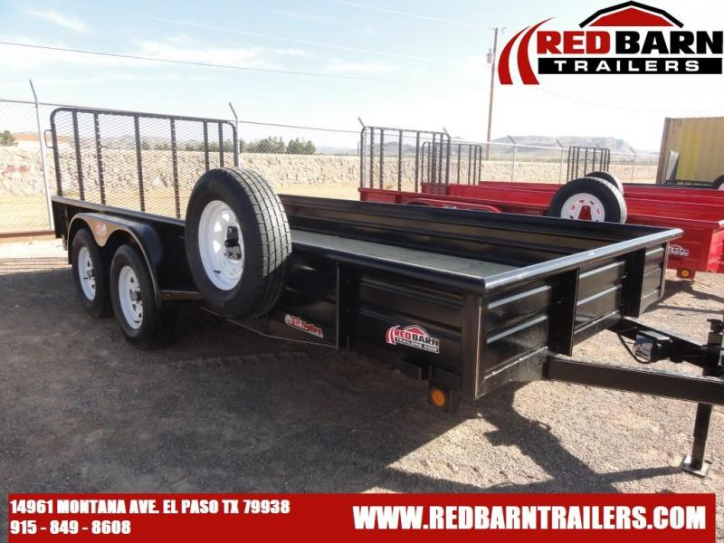 2022 GR 82 X 16 Tandem Axle Utility - RampGate Closed Sides