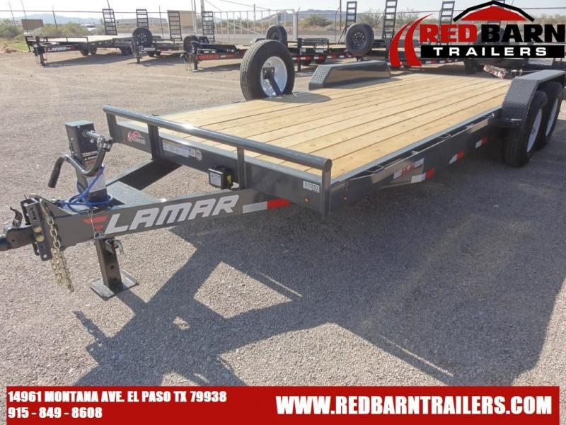 2021 Lamar 83X20 Trailers H6832027 Equipment Trailer