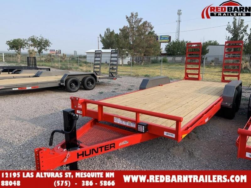 2022 7 x 20 Hunter EQH822025 Equipment Trailer