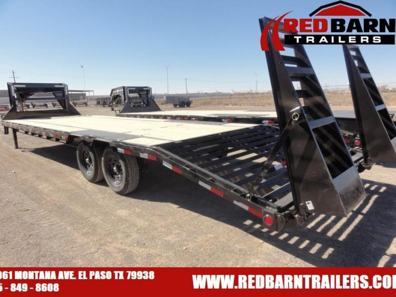 102 X 30 2020 PJ Trailers Low-Pro Flatdeck with Singles (LS) Flatbed Trailer
