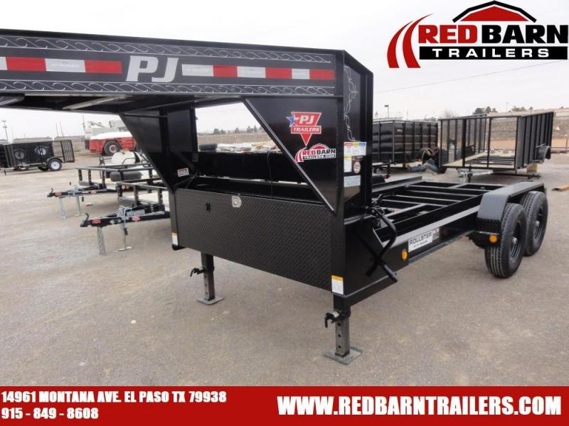 2020 PJ Trailers Rollster Roll Off Dump (DR) Dump Trailer (BINS SOLD SEPARATELY)