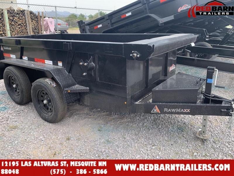 2022 5 X 10 RawMaxx XTT-102-3.5K Dump Trailer