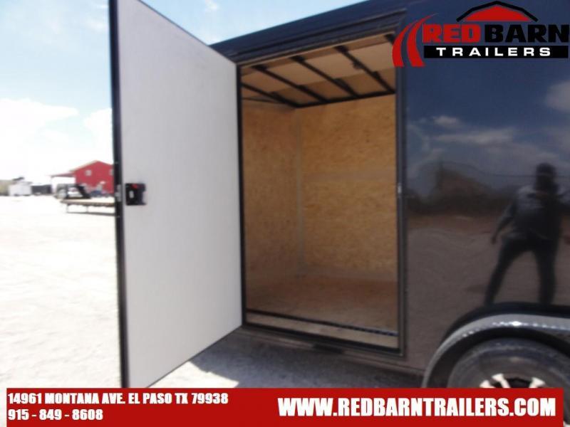 7X16 2021 Haulmark Transport V-Nose Enclosed Cargo Trailer