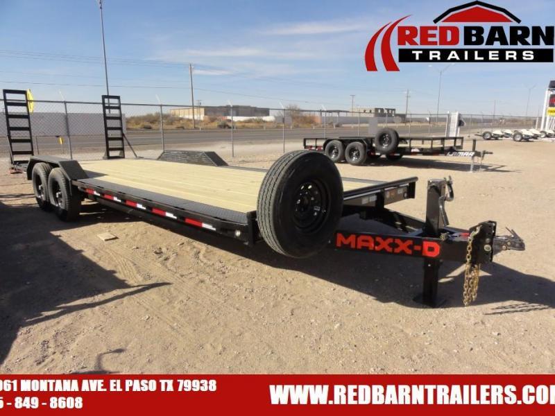 2021 MAXXD 102X24 H610224 Equipment Trailer
