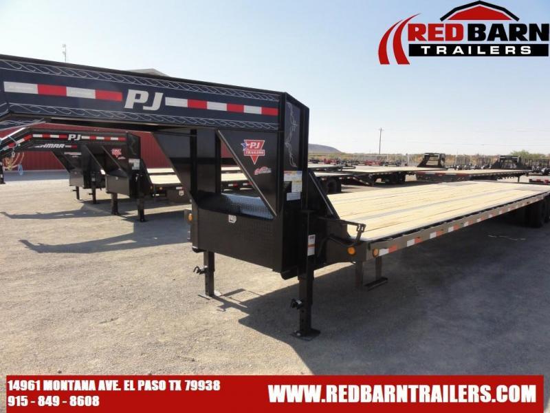 2022 PJ GOOSENECK 102 x 40FT. Low-Pro Flatdeck with Duals (LD)