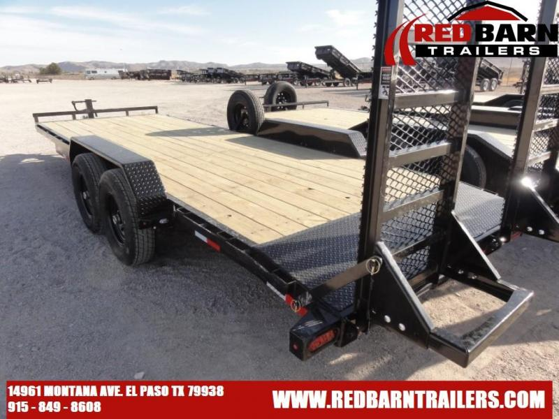 83 X 22 2021 Lamar Trailers H6832227X Equipment Trailer
